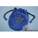 Bolsa Azul con Pentáculo