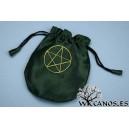 Bolsa Verde con Pentáculo
